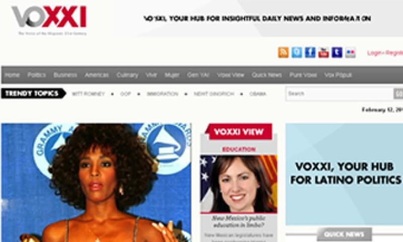El sitio incluye noticias en multimedia, análisis y blogs. (Foto: Tomada del sitio www.voxxi.com)