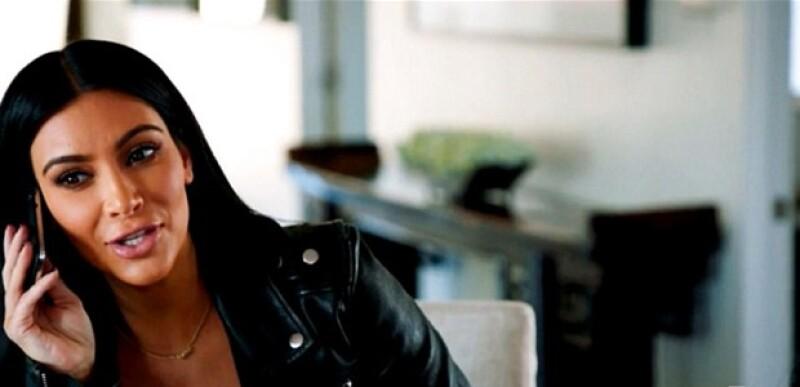 Kim bromea con Caitlyn sobre la voz dela estrella de 65 años.