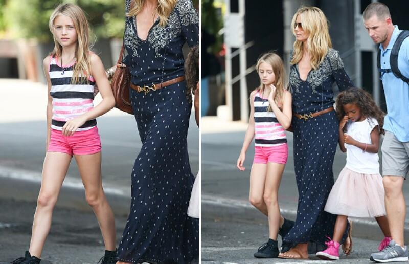 Leni tiene todo para convertirse una una top model, como su mamá.