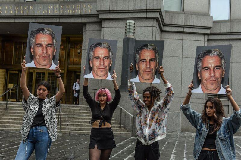 Protestas contra Jeffrey Epstein