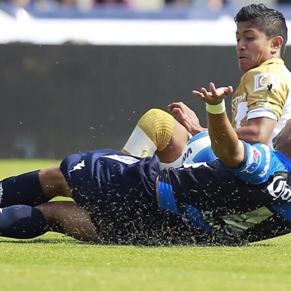 Pumas se confío y Puebla le empató de último minuto