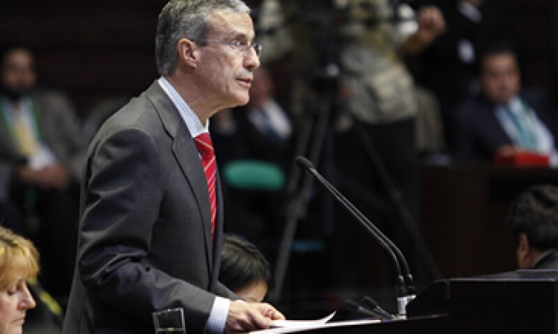El presidente de la Cámara de Diputados, José González Morfín, señaló que el efecto de las reformas tardará algún tiempo. (Foto: Cuartoscuro)
