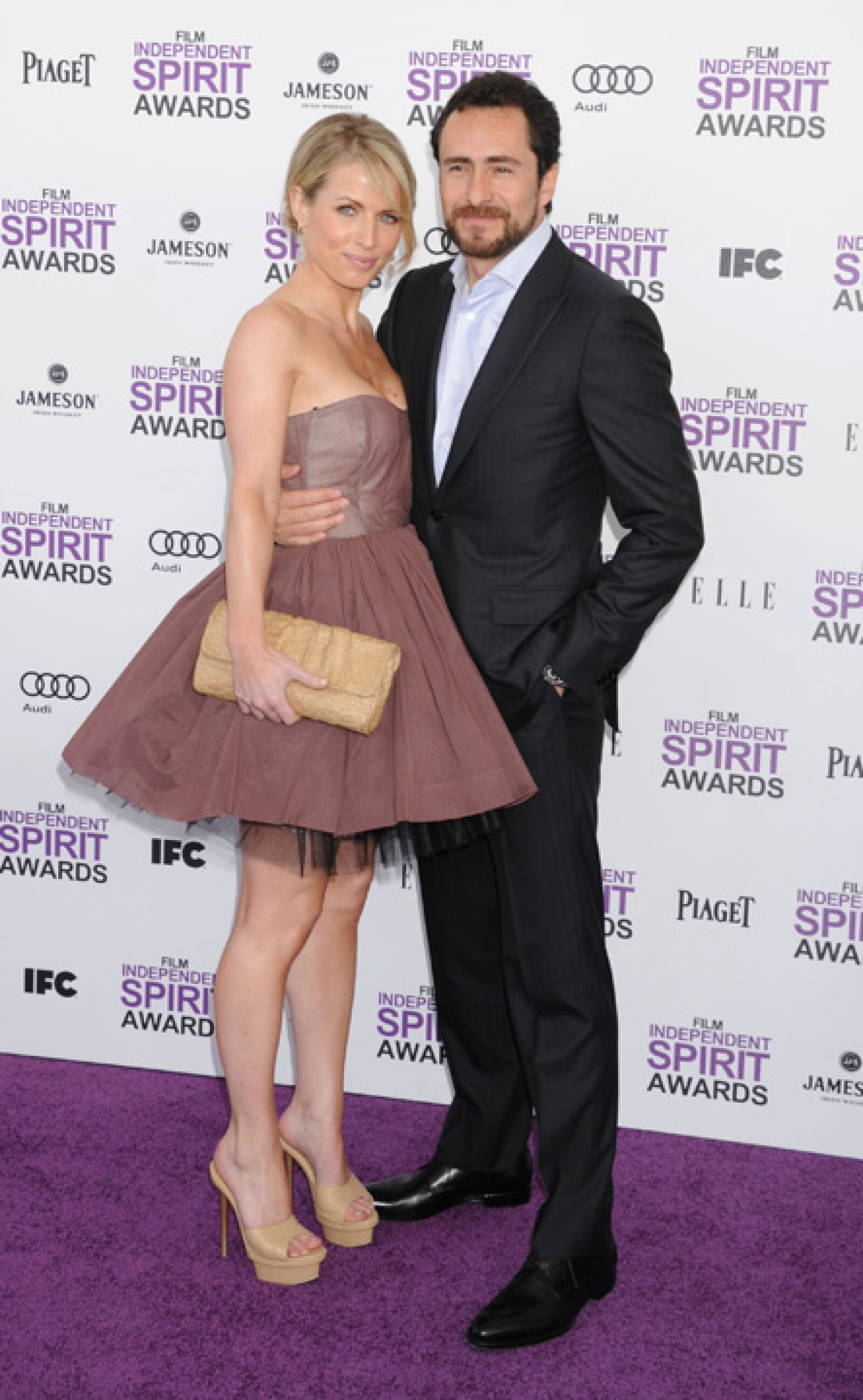 En los Spirit Awards.