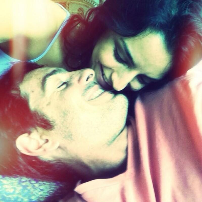 """La pareja mostrará su amor en la pantalla grande en la película """"A la Mala"""" en 2015."""