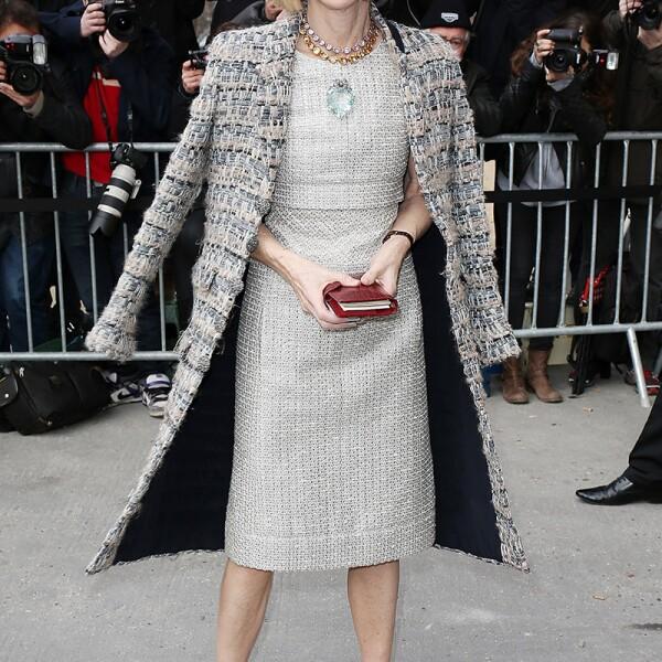 Chanel : Outside Arrivals  - Paris Fashion Week Womenswear Fall/Winter 2014-2015