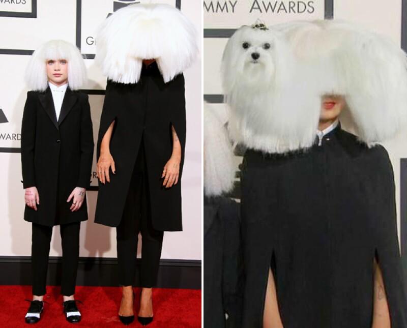 Así se burlaron del look de Sia en los Grammy este domingo.