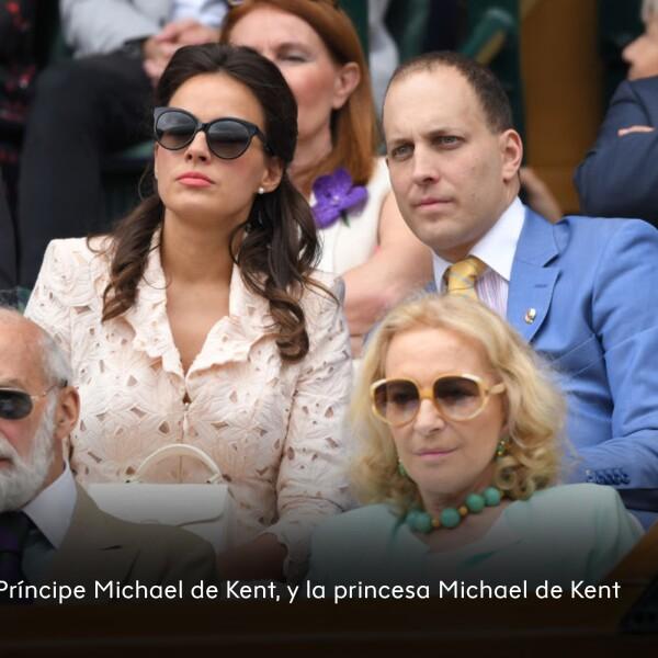 Príncipe Michael de Kent y la princesa Michael de Kent