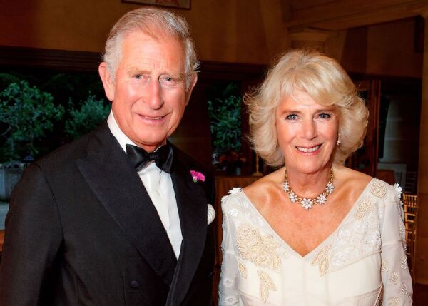 Prince Charles and Camilla Duchess of Cornwall 2017 Christmas Card - Dec 2017