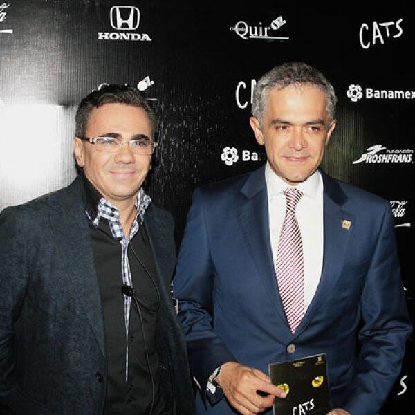 Gerardo Quiroz y Miguel Ángel Mancera.