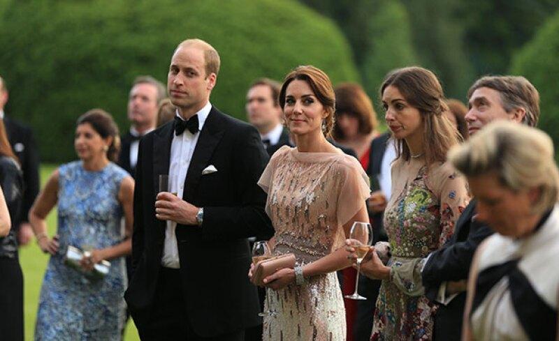 La pareja real bromeó en presencia de varios prestigiados chefs sobre sus gustos a la hora de la comida y sobre la falta de experiencia de Kate para cocinar.