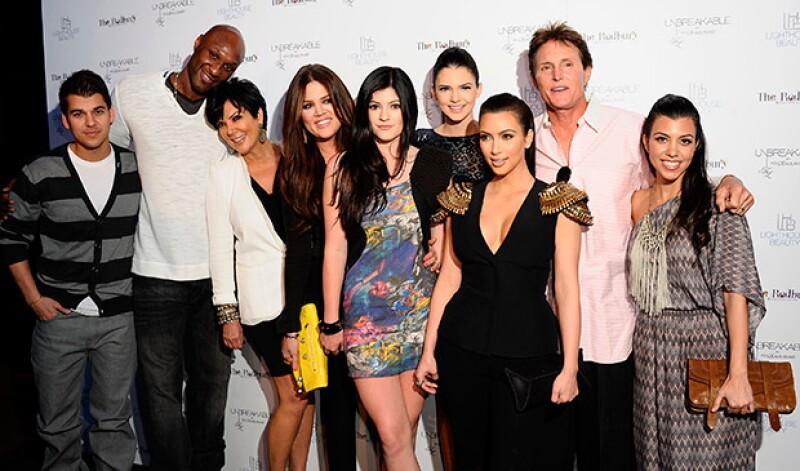 Los Kardashian siempre estuvieron para apoyarlo y ayudarlo a que dejara atrás sus adicciones.