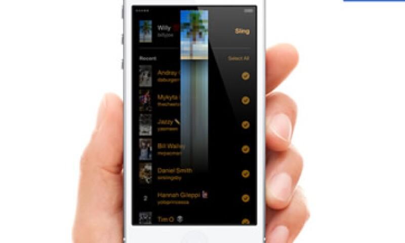 Slingshot impedirá a los usuarios ver los mensajes recibidos hasta que envíen de vuelta una foto o video propio. (Foto: Tomada de newsroom.fb.com)