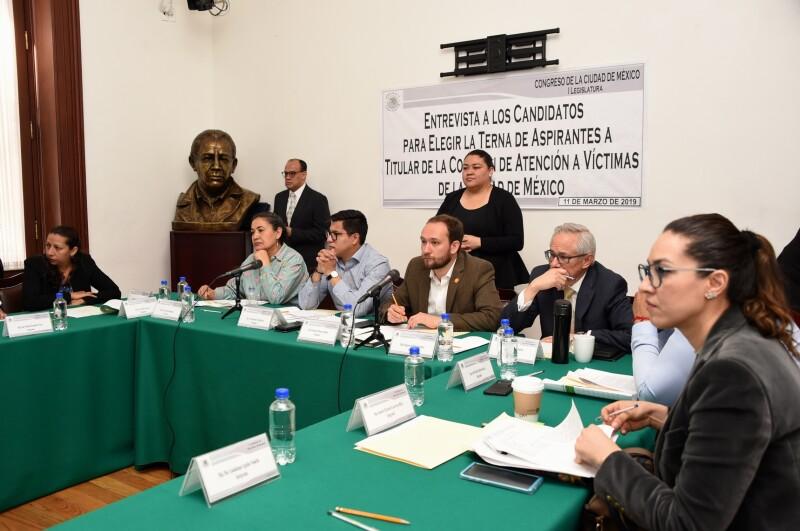 candidatos comisión de atención a víctimas CDMX