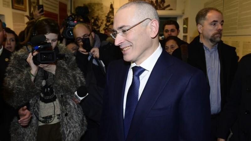 El opositor ruso Mikhail Khodorkovsky