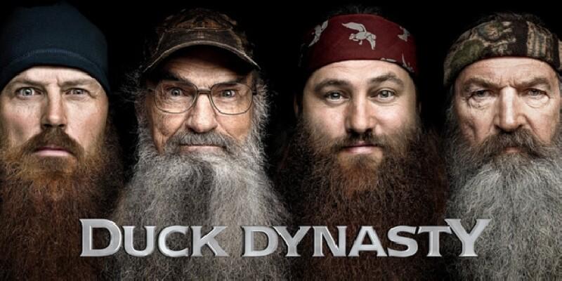 El poster de Duck Dynasty, tercera temporada
