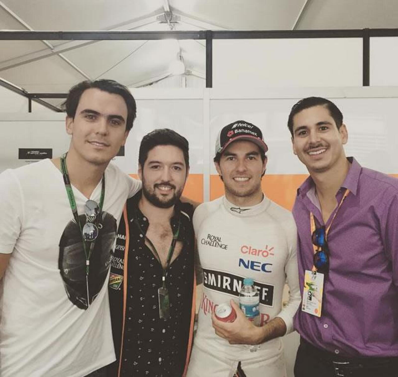 Carlos Guarro, Heladio Nun?ez , Checo Pe?rez y Carlos Arroyo