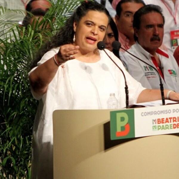 beatriz paredes, candidata del PRI al DF