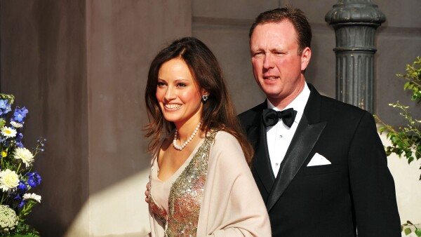 Príncipe Gustav Sayn-Wittgenstein-Berleburg y su novia, Carina Axelsson