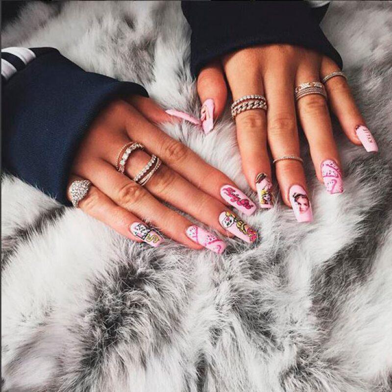 El nail art es uno de los preferidos de Kylie Jenner.