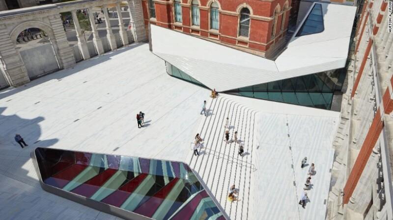 La nueva extensión al museo Victoria y Albert