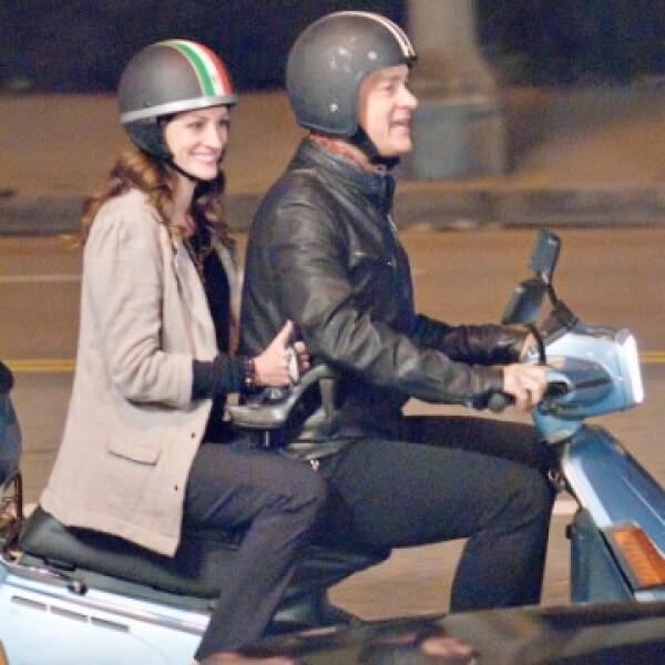 Tom Hanks y Julia Roberts