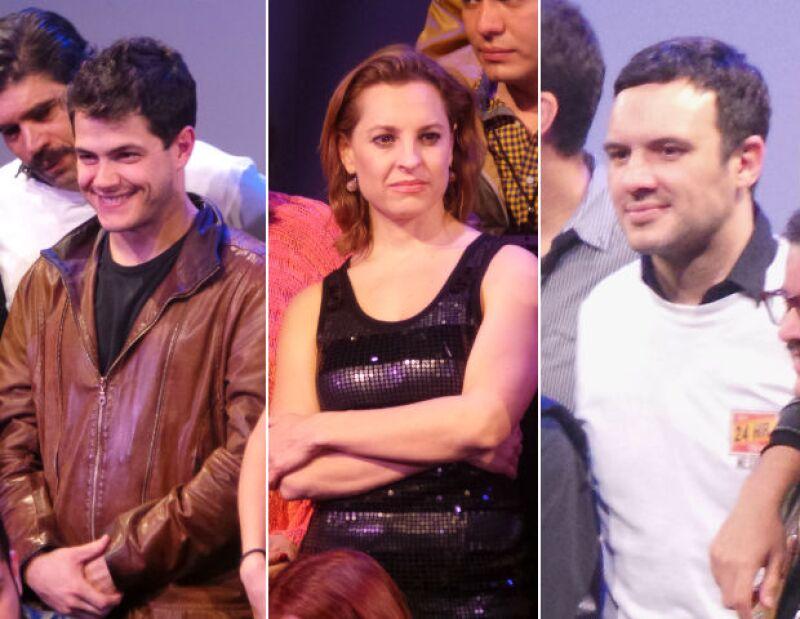 """Actores como Alfonso Dosal, Alex de la Madrid y Marina de Tavira se reunieron en un escenario para formar parte de la primera edición de """"24 hour plays"""", donde montaron una obra en sólo un día."""