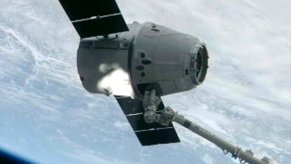 Nave espacial Dragon de SpaceX