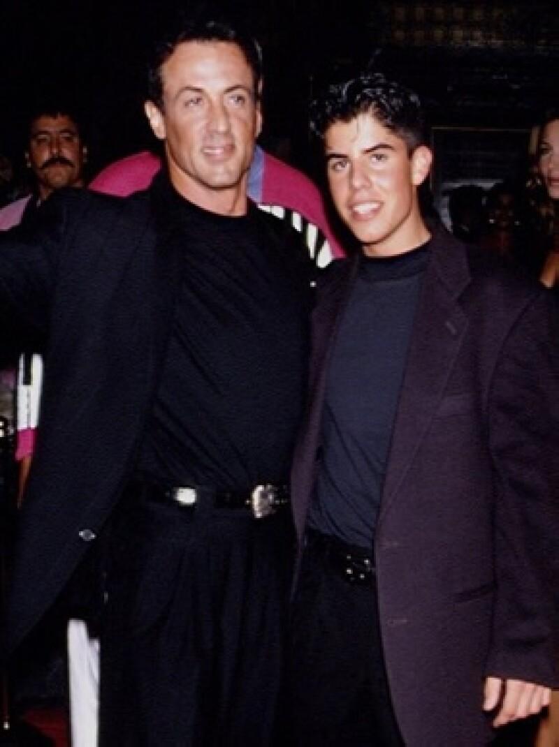 Sylvester y Sage fueron más unidos desde que trabajaron juntos en cine.