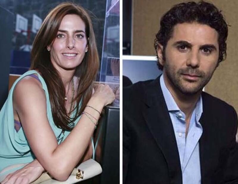 Paola Saad y Pepe Bastón.