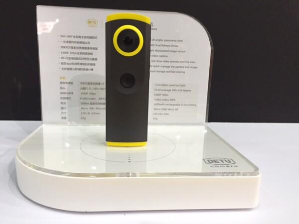 El modelo F4 Sphere, capta video en 360 grados con resolución 4K