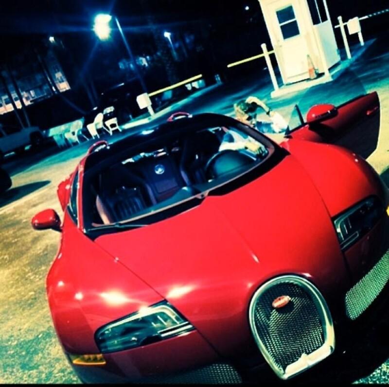 Justin ya podrá conducir un Bugatti de dos millones de dólares.