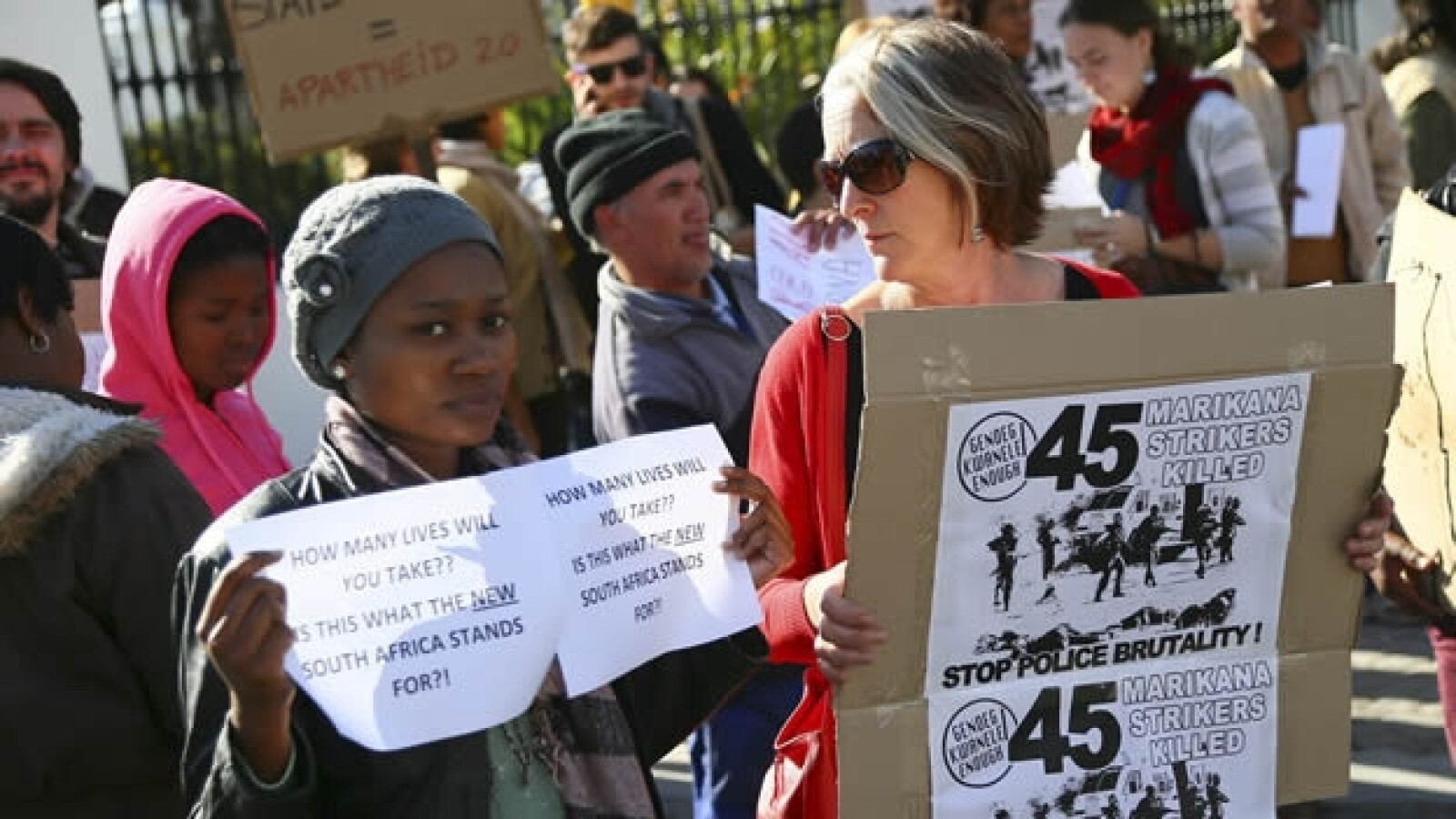 Sudáfrica protestas mineros 4