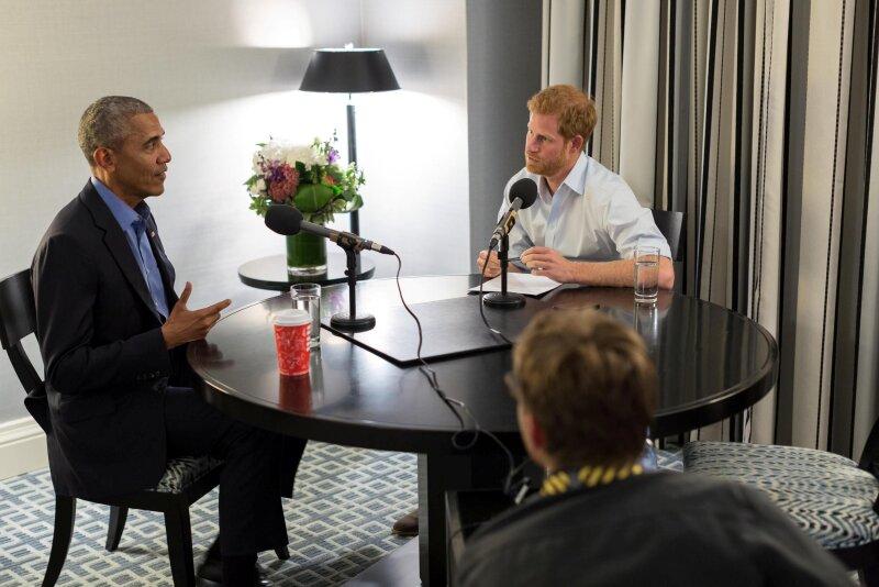 Obama y el principe