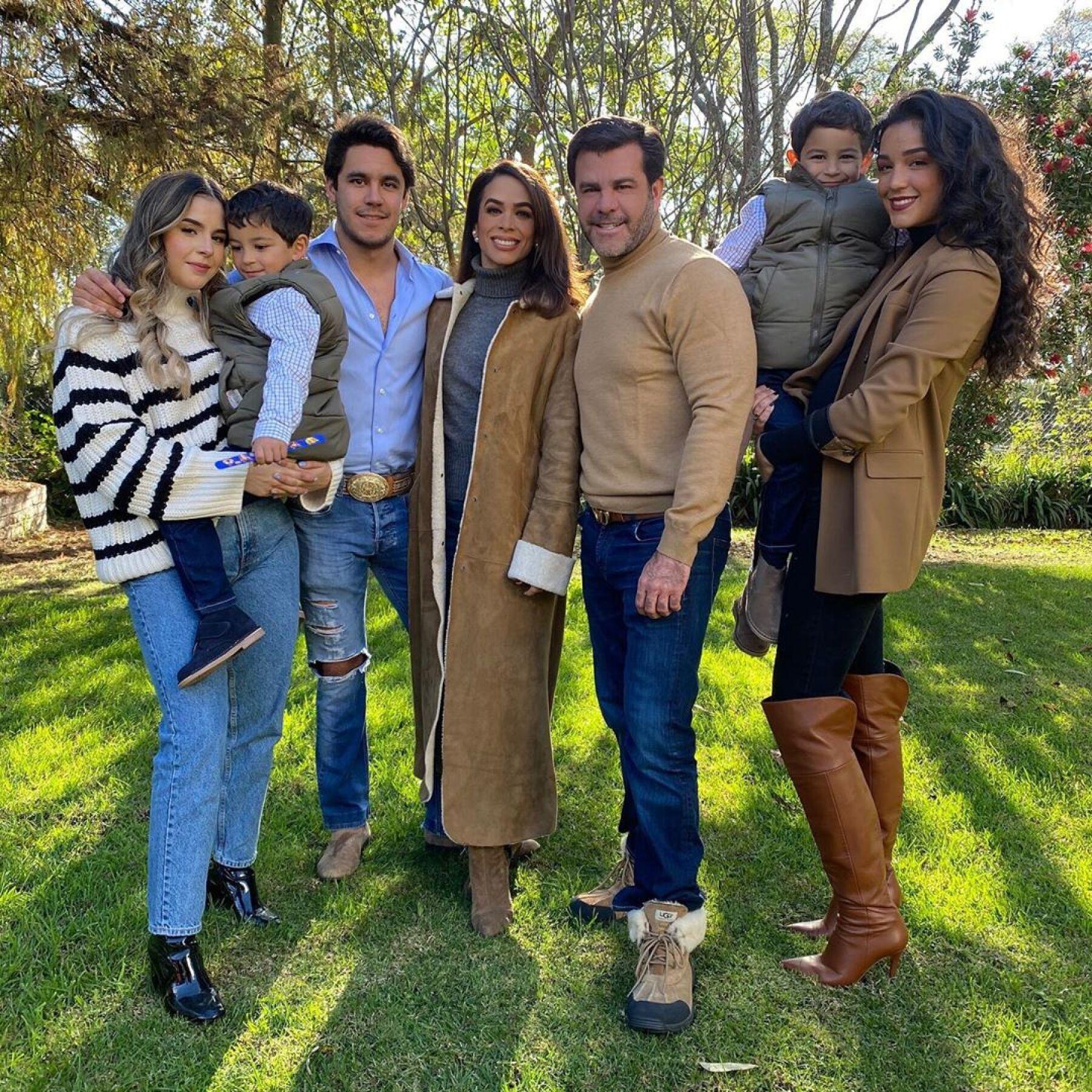 La familia Capetillo Gaytán