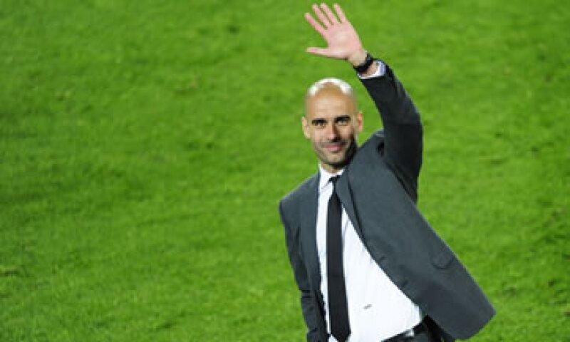El entrenador Josep Guardiola recomienda practicar un deporte para aprender cosas fundamentales de la vida. (Foto: AP)