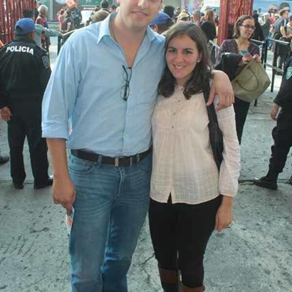 Bernardo Llamas y Pilar Montalvo