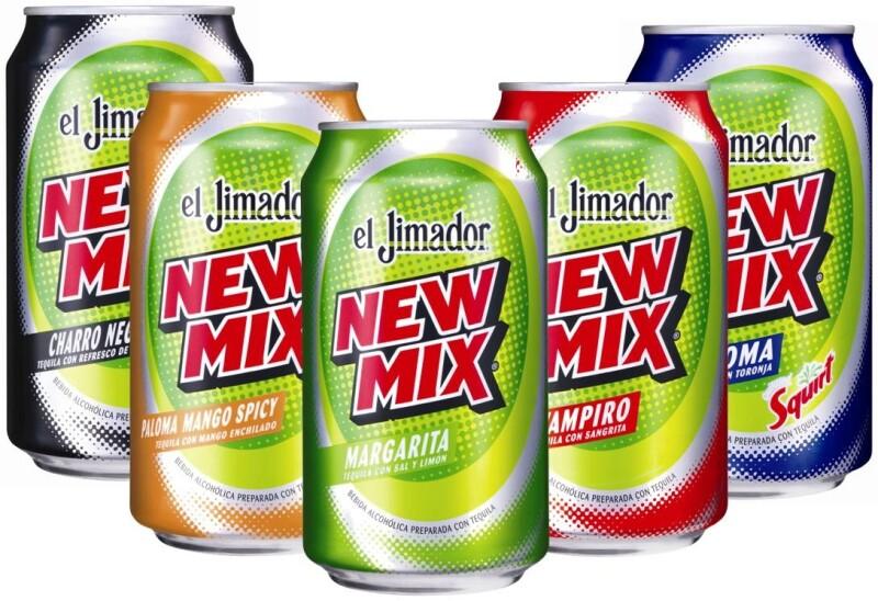 A 15 años de su presentación, New Mix tiene 46% del mercado de bebidas mezcladas con alcohol. (Foto: Cortesía de Casa Herradura)