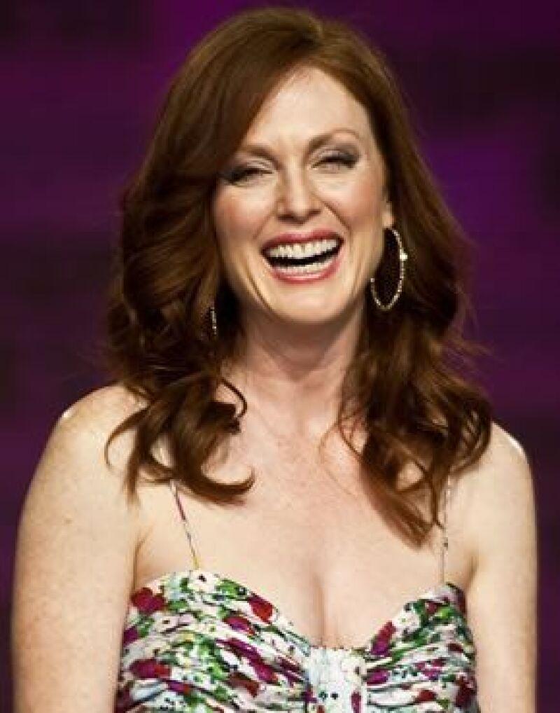 La actriz nombrada imagen del Fashion Fest 2009, dijo estar feliz en México