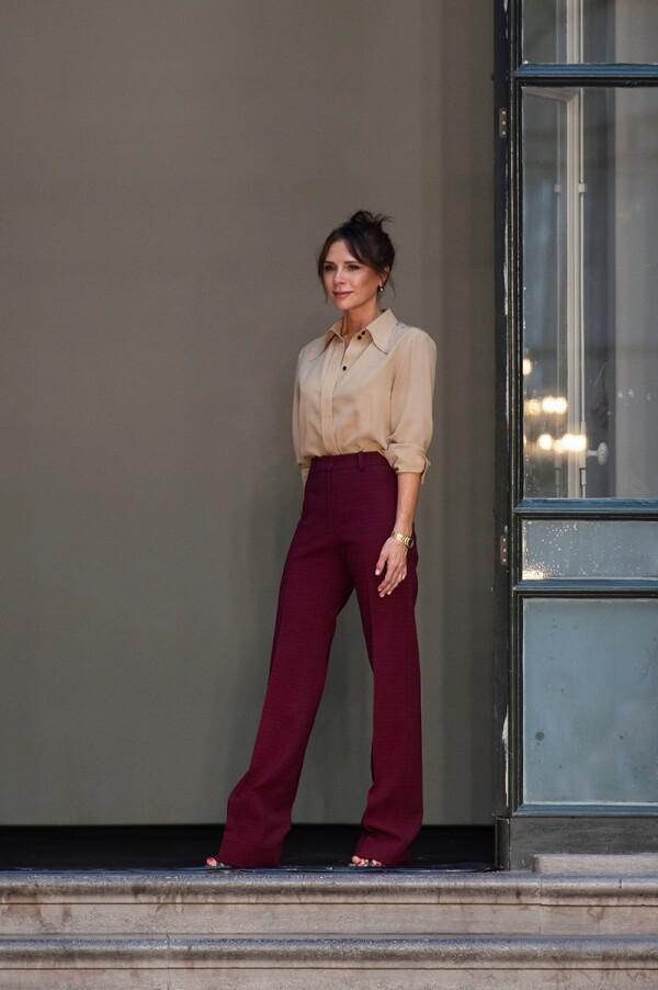 Victoria Beckham show, Runway, Spring Summer 2020, London Fashion Week, UK - 15 Sep 2019