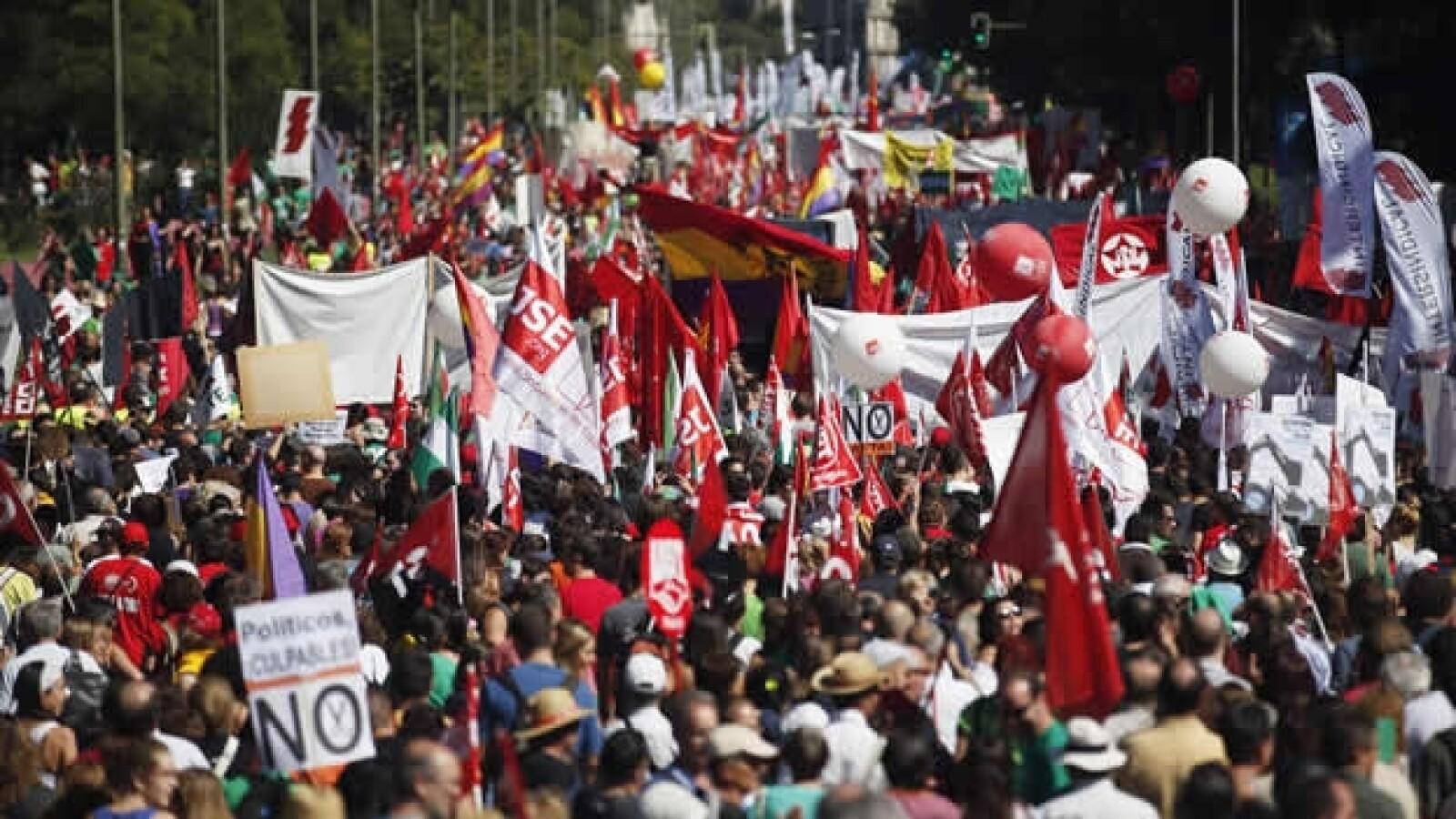 España crisis marcha 3