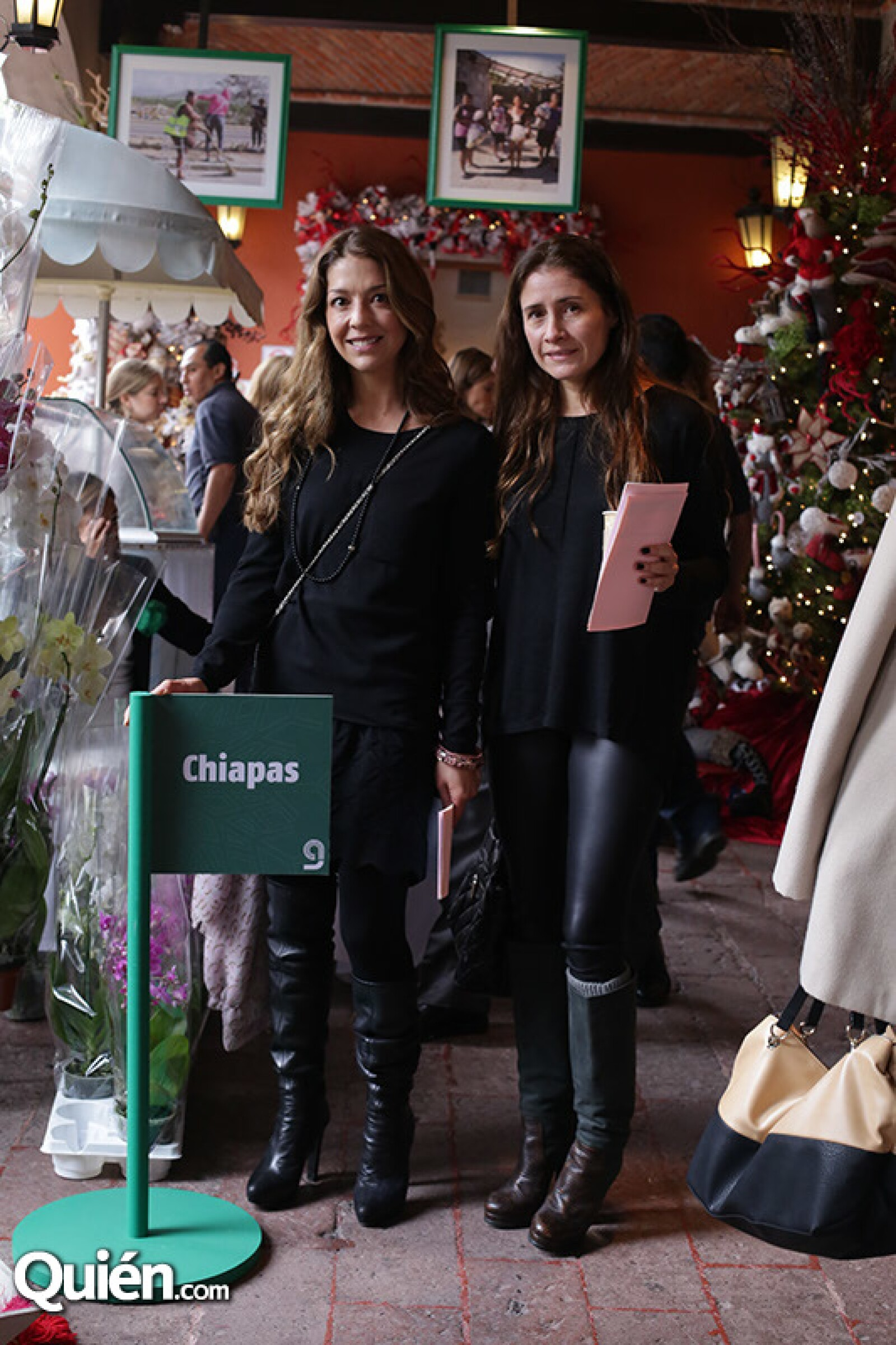 Angie Fernández y Verónica San Millán