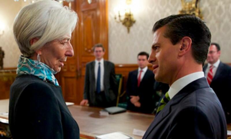 Peña Nieto consideró que existe un mejor entorno económico internacional. (Foto: Reuters)