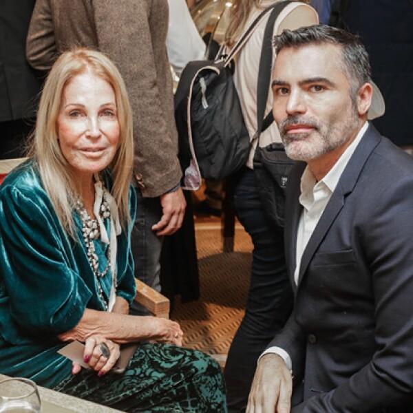 Barbara Berger y Nino Bauti