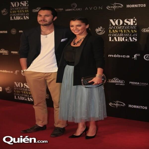 Alejandro Gutiérrez y Sara Maldonado