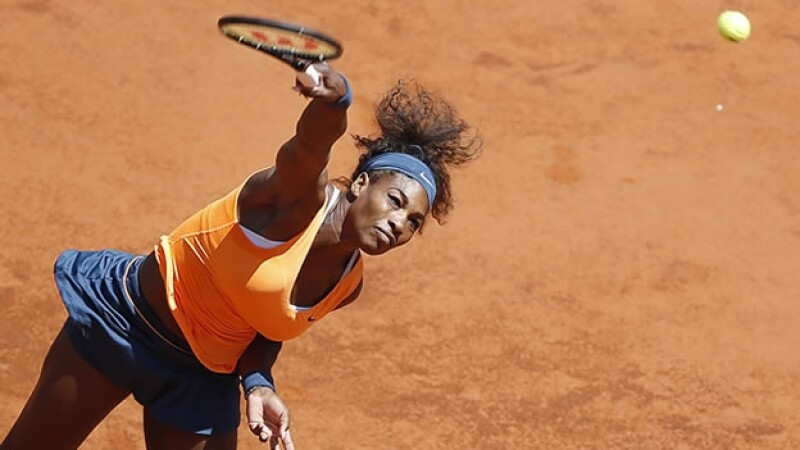 Serena Williams gana en Roma
