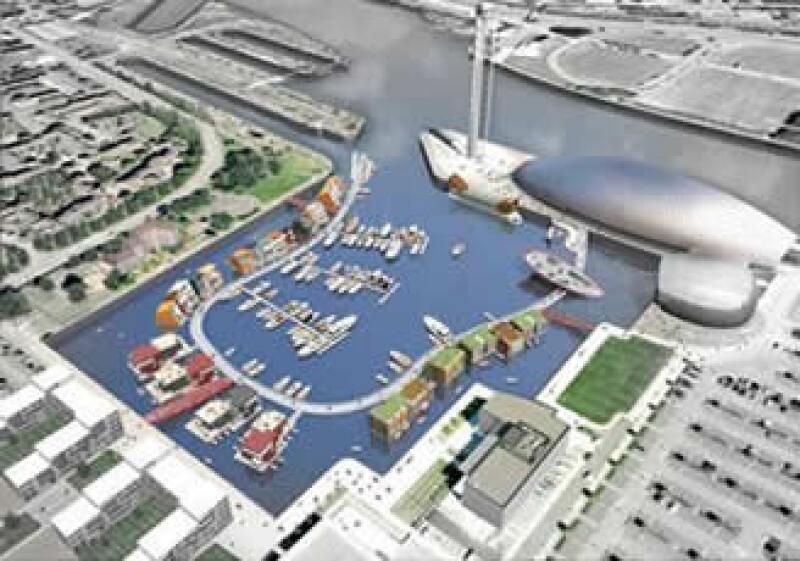 Los proyectos inmobiliarios transformarán el antiguo puerto de Canting Basin en una riviera de talla mundial. (Foto: Cortesía Scotish Enterprise)