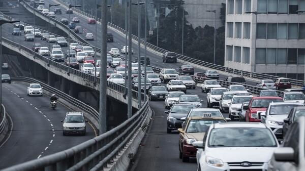 Transitar por el segundo piso de Periférico Norte en la Ciudad de México en hora pico por la mañana y noche será 24.25% más costoso.