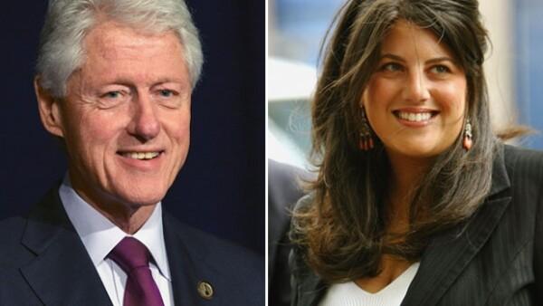Bill Clinton mantuvo una relación extramerital con la becaria Monica Lewinski.