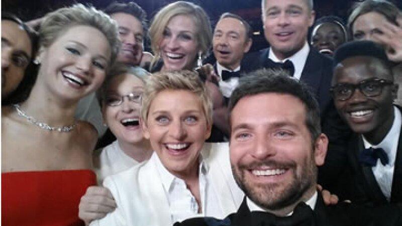 Esta es la selfie que rompió récord en Twitter.