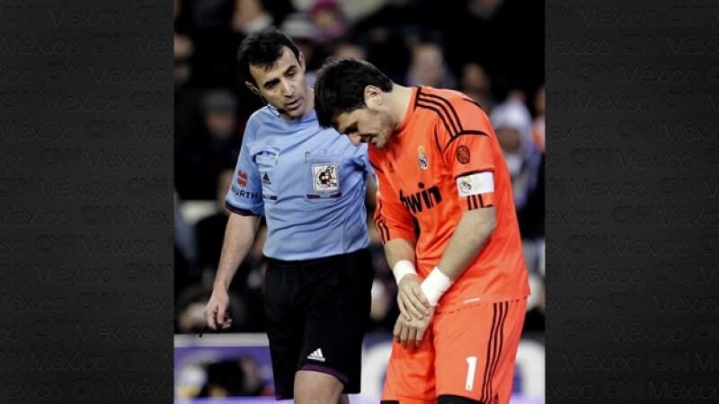 Iker Casillas lesión